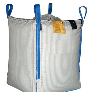 Flat bottom open  mouth virgin PP material 1 ton tote jumbo bags big fibc bulk bag for packing