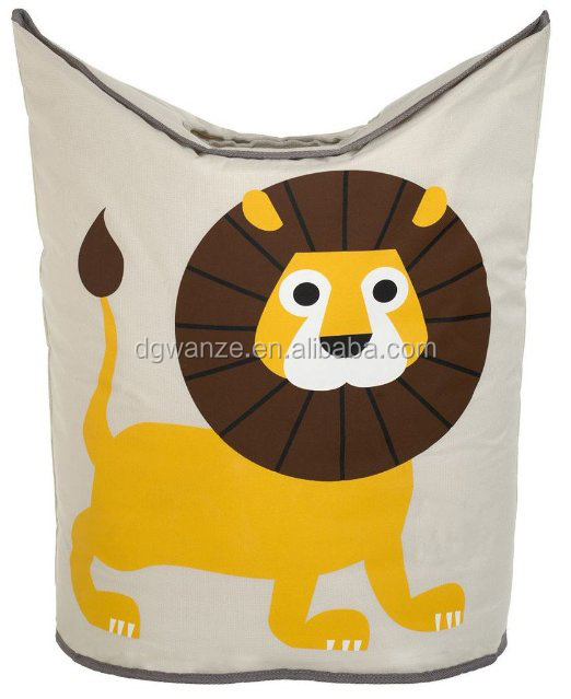 Set of 3 lion laundry Hamper