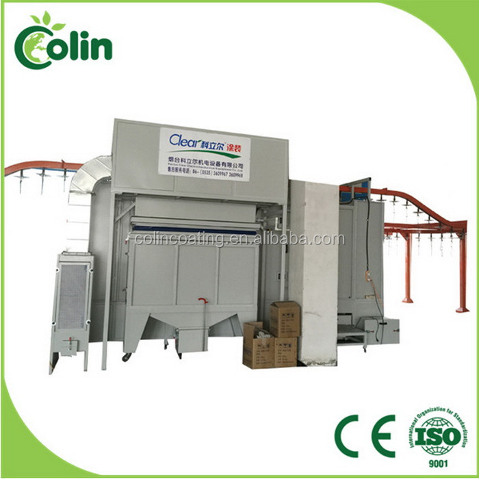 Reliable quality new style Gas Electrostatic paint, Powder Coating Oven, booth Burner