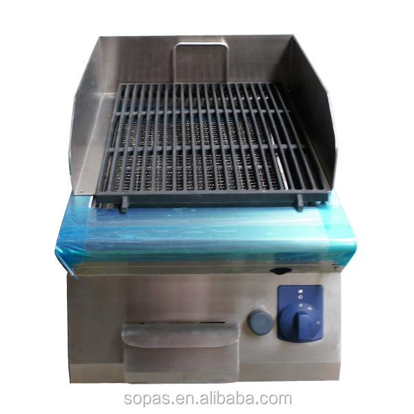 Sopas New Commercial Kitchen Grills   Gas Lava Rock Chargrill