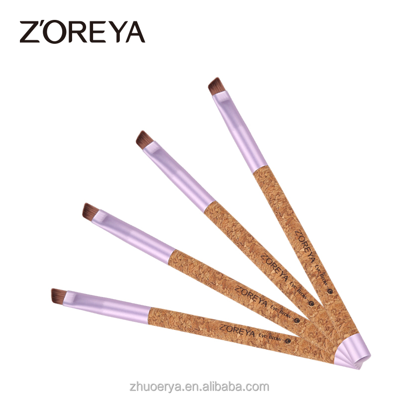 Eco-friendly Zoreya Nylon Hair Angled Brow Brush for Makeup