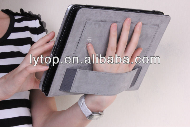For ipad case with handle and pen slot