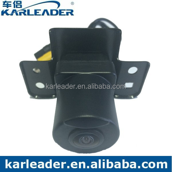 Distortion Correction 180 Degree wide angle Car Front View Hidden Camera for Toyota Alphard