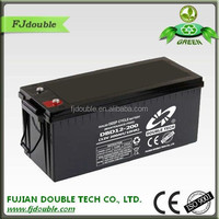 long span life lead acid 12v 200ah deep cycle battery