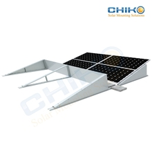 Aluminum alloy solar panel mounting system flat roof