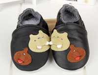 baby cartoon soft toddler shoes genuine leather upper and sole prewalker shoes