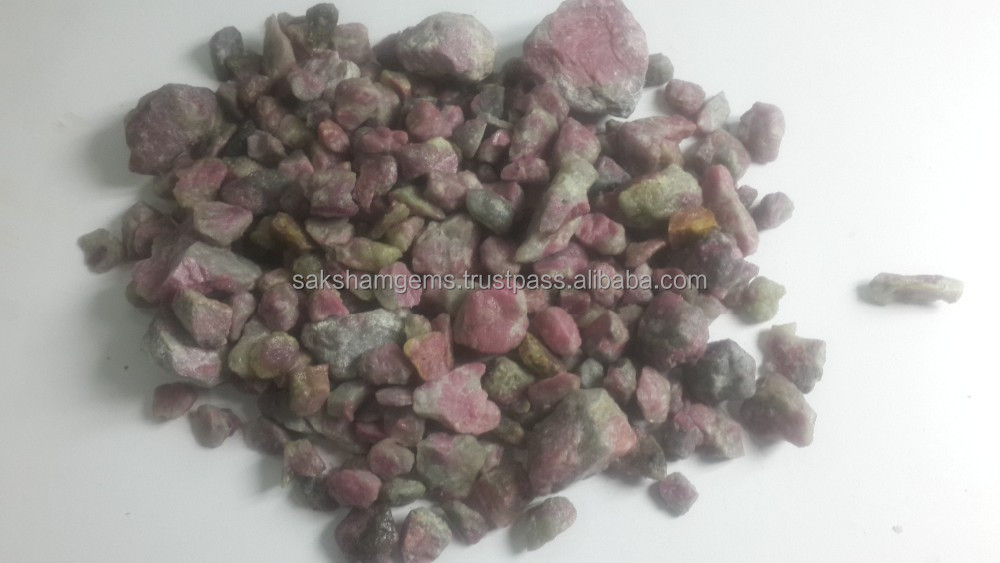 Natural Pink Sapphire Gemstone Raw Rough for Sale