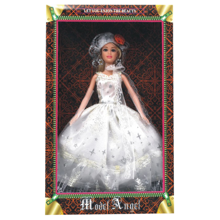 Fashion Doll 12.5 inch Wedding Dress Display Doll with 4 Styles Mixed