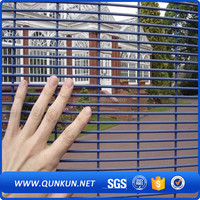 2016 hot sale cheap plastic metal anti climb safety 358 security fence