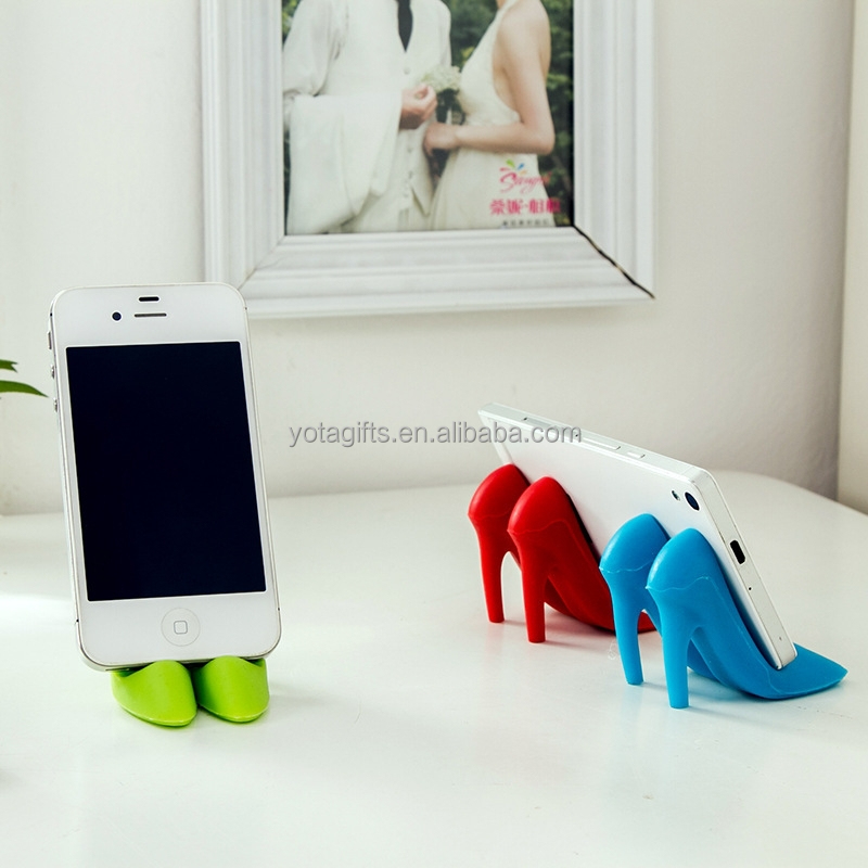 Funny High Heel Desktop Cell Phone Holder For Desk