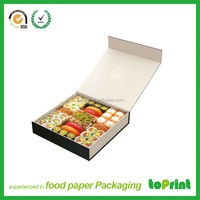 China wholesale factory hot sale white food boxes for sushi packaging in low price