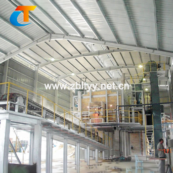 Thermal insulation construction sodium silicate kiln