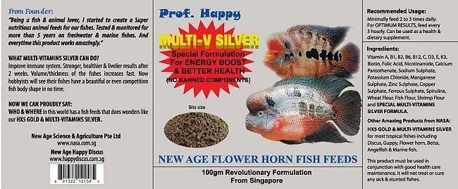Flower Horn Fish feed