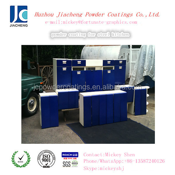 good quality blue epoxy powder coatings for steel funiture