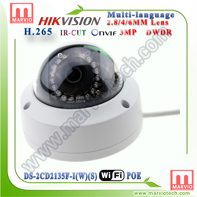 [Hikvision Wireless IPC] DS-2CD2135F-IWS 3MP outdoor <strong>wifi</strong> hikvision IP Camera add <strong>wifi</strong> than DS-2CD2135F-IS and DS-2CD2132F-I