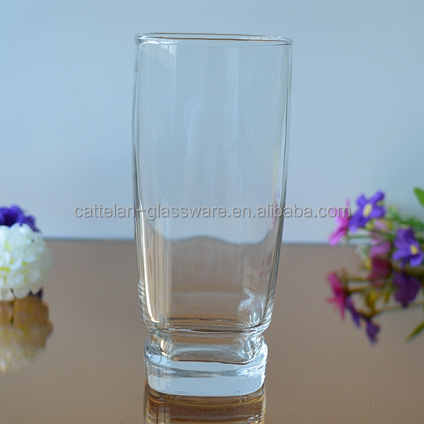 Stemmed machine making highball drinking glass cup collins glass
