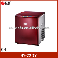 Red Manual commercial bullet Ice Maker 22kgs