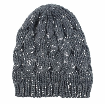 100% Acrylic/Cotton winter knit hats/beanie