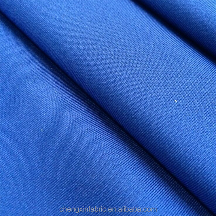 polyester spandex single jersey knitted fabric for sportswear