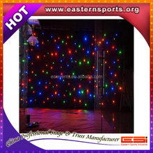 ESI factory direct LED Star Curtain / Stage back cloth / curtain led lights