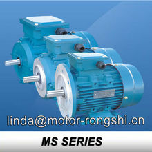 MS Series specifications of induction motor
