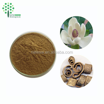 Magnolia officinalis Extract Magnolol 2% And Honokiol Botanical Extract