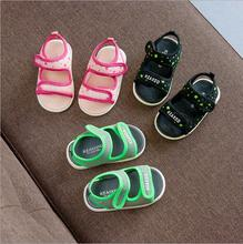 S90040A Lovely star Canvas Prewalkers Baby sandals