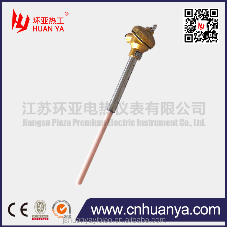 furnace measuring glass solution three platinum rhodium thermocouple Platinum Rhodium thermocouple with Corundum tube