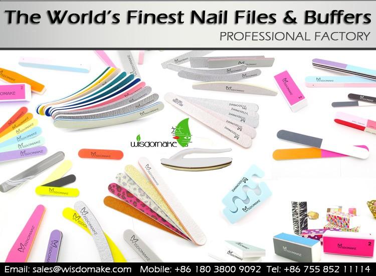 Custom Printing Nail Files 180/180 Nail Art Emery Board