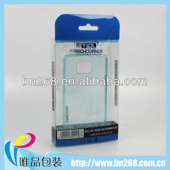 phone accessory pet blister packaging