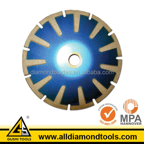 T Segment 5 Inches Curved Diamond Saw Blades for Cutting Circular Line