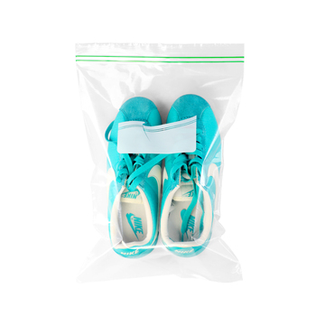 YTBagmart PE Packaging Transparent Plastic Zip Lock Bags for Shoes