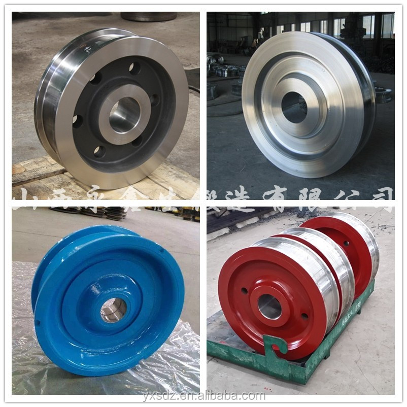 Forged alloy steel wheel and train for sale view