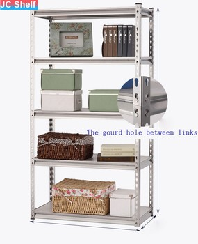 light duty warehouse steel boltless shelving steel shelf