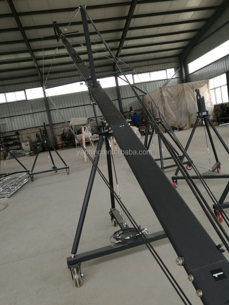Camera Accessories Manufacturer 8m Video Jimmy Jib Crane For Flming Shooting