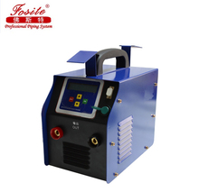 Electrofusion welding machine for welding HDPE pipe fittings