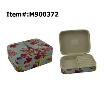 Custom Cardboard Leather Velet Paper Jewelry Packaging Box