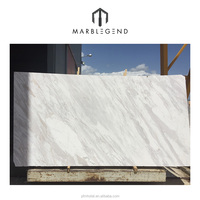 Wholesale Best price wall tile white volakas marble slab