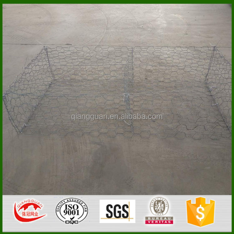 5x1x1m gabion box suppliers/Peru 270g gabion wall fence