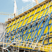 Formwork With Adjustable Durable Climbing System