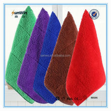 85% polyester and 15% polyamide microfiber towel