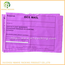 self sealing adhesive pink poly mailer cheap colored envelopes
