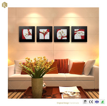 3d Effect Wall Decorative Relief Flower Paint Picture