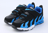 2016 New Hot Fashion Soft Kids Unisex Sport Running Shoes Flame Style Kids Casual Sneakers KS81210-4