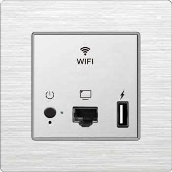 CE/FCC/RoHS Certified High Speed WIFI Coverage Wireless Access Point for Hotel Guest Rooms/Home/School