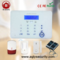 Private mode Smart touch screen keyboard home burglary alarm support IOS Android APP