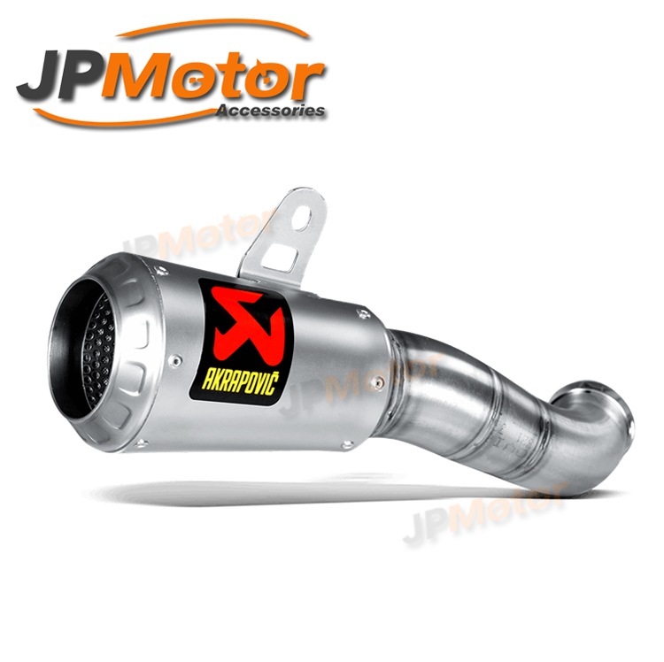JPMotor Slip On Stainless Motorcycle Muffler Exhaust For R3 15-16 S-Y2SO11-AHCSS