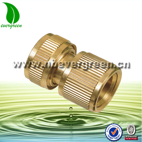 Brass water swivel hose connector