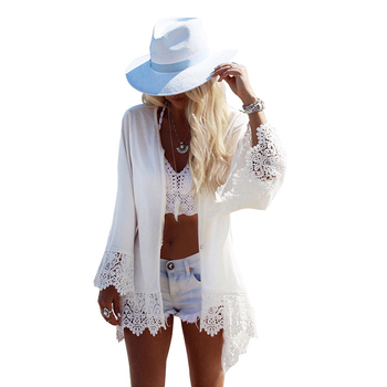 2018 women eagle printing cover-up beach swimsuits