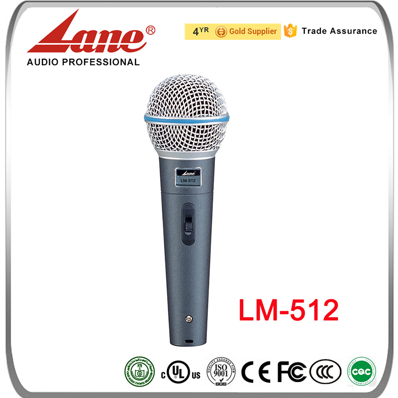 Hot Sale professional condenser microphone powerful portable speaker and